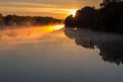 Burritts Rapids Sunrise