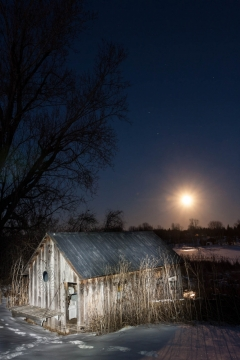 Milkshed Moonrise